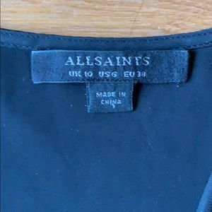 All Saints Dresses - All Saints Black Aurie Dress Size 6